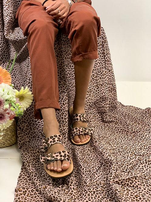 Sandali pink camouflage W