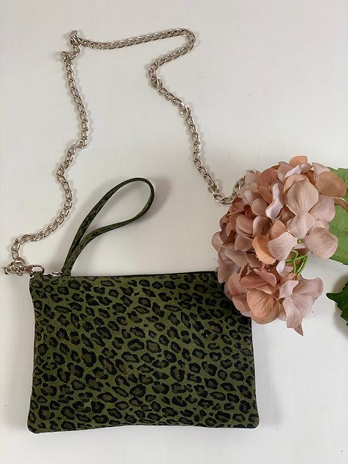Pochette Vert Camouflage