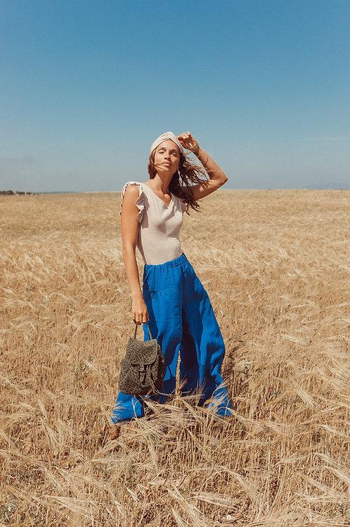 Pantaloni Charlotte lino