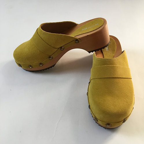 Clogs Moutarde