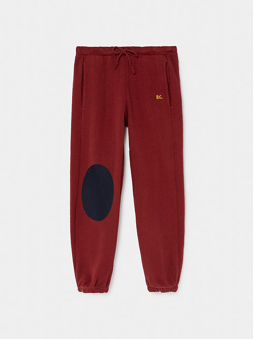 Blue Patch Jogging Pants