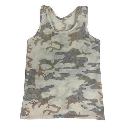 Canottiera camouflage W