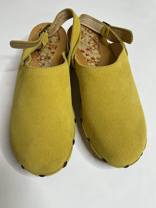 Clogs Moutarde laccetto n° 37
