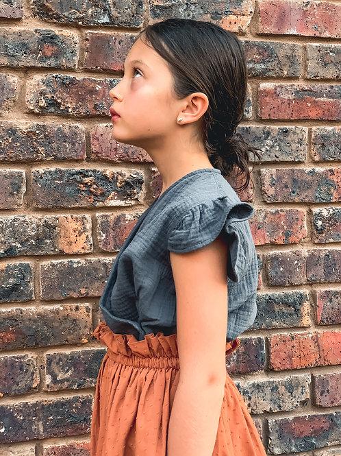 Camicia Aurelia antracite