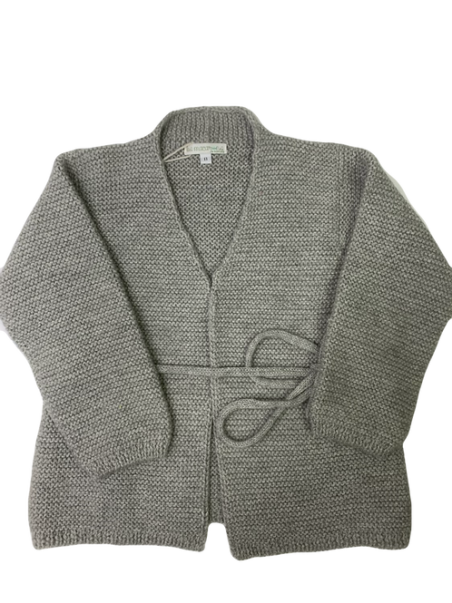 Cardigan soft grey