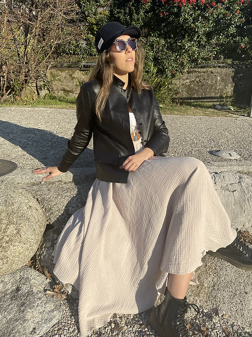 Giacca in pelle Patricia