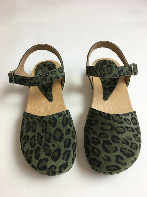 Clogs Talì Camouflage vert