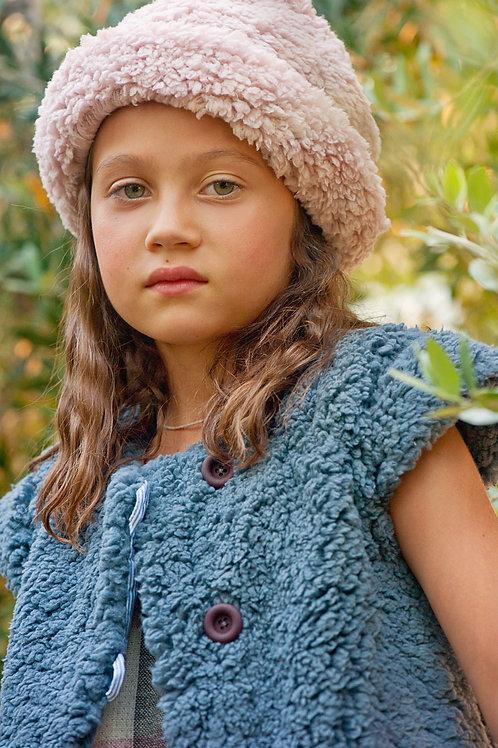 Gilet Boboi Bleu-gris