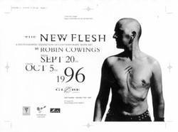 New Flesh exhibition poster