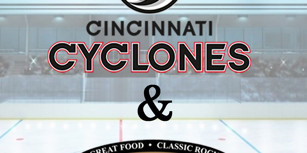 MOB Cincinnati Cyclones and Dinner at the Yardhouse