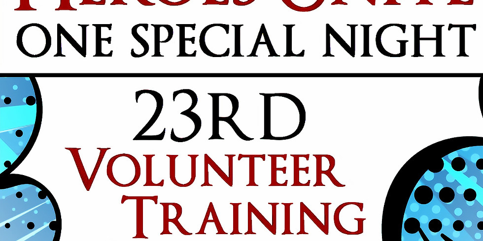23rd OSN Volunteer Training