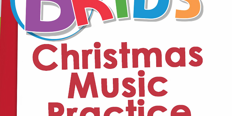 BKIDS Christmas Music Practice