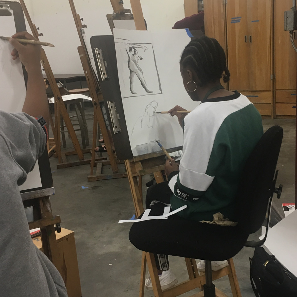 India Ink Figure Drawing Workshop