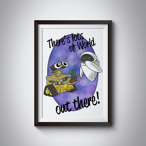 Out There Print