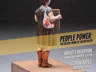 PEOPLE POWER: THE RECENT WORK OF SUSAN HAGEN