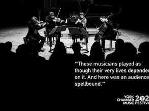 A Glorious return to live chamber music!