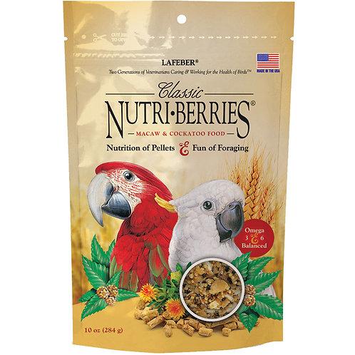 Nutriberries Macaw/cockatoo