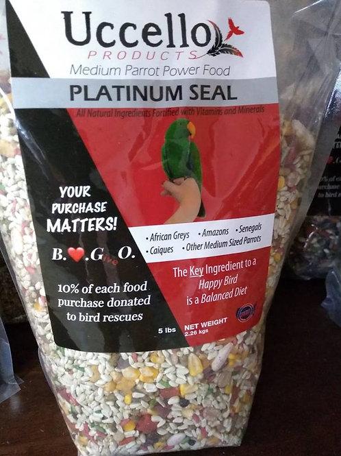 Uccello Medium Parrot Power Food - PLATINUM SEAL