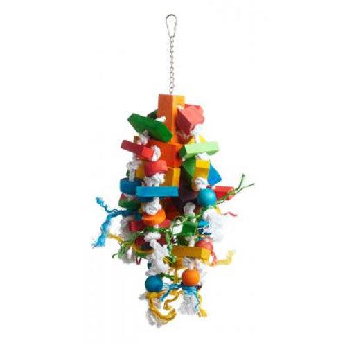 Bodacious Bites Wizard Bird Toy