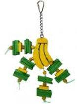Happy Beaks Small Banana Toy