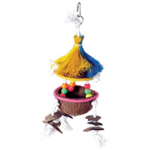 Prevue Tiki Hut Bird Toy