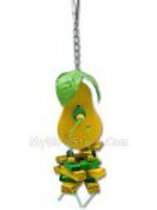 Happy Beaks Small Pear Toy