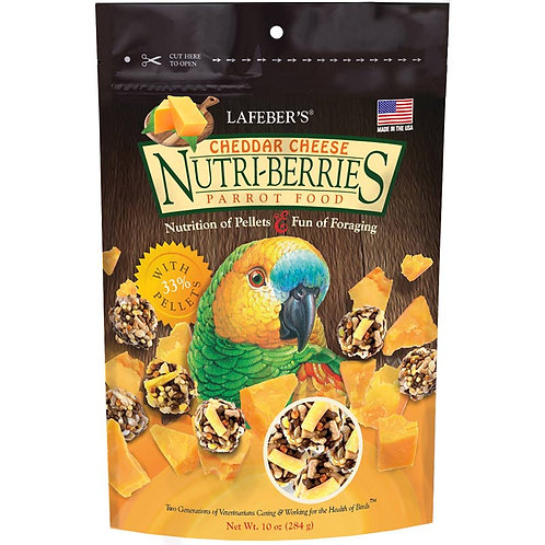 Nutriberries Cheddar Cheese