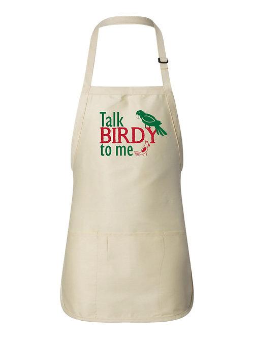 Talk Birdy to Me- Apron