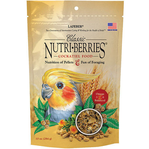Nutriberries Cockatiel