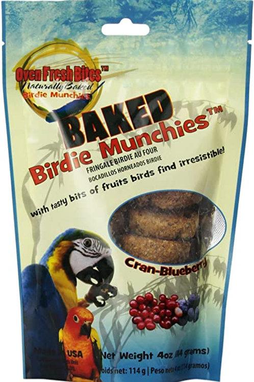 Baked Birdie Munchies - Cranbluebery