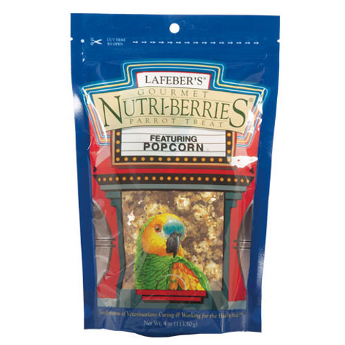 Nutriberries Parrot Popcorn 1lb
