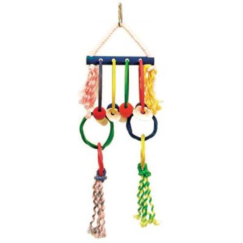 Prevue Hula Hoops Bird Toy