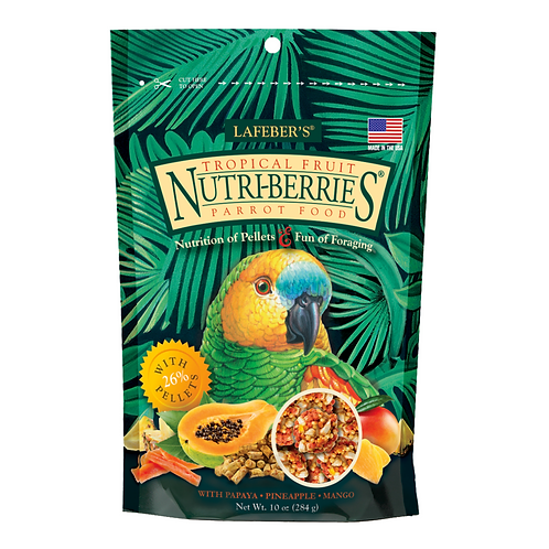 Nutriberries Tropical Parrot