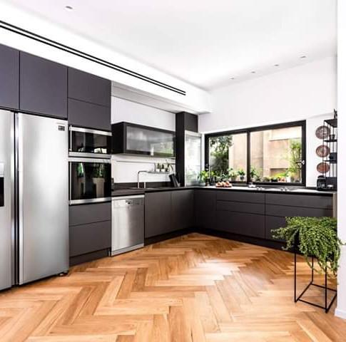 פרוייקט תכנון מיזוג בבית בתל אביב