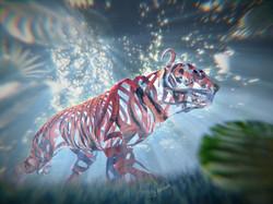 Tiger Streifen