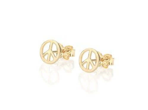5244740000 Peace Sign Earring