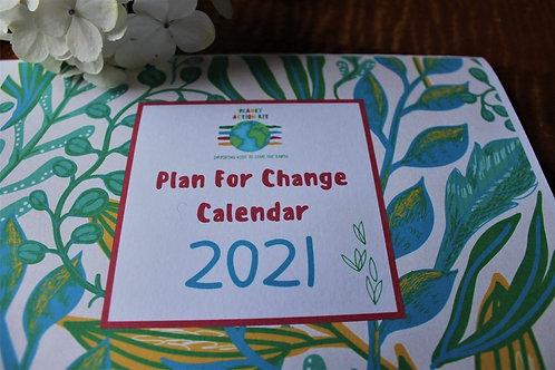 Plan For Change Eco-Calendar 2021