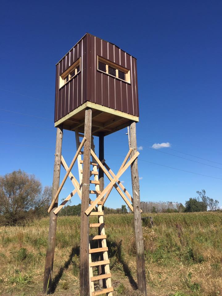 Custom Built Deer Hunting Stand