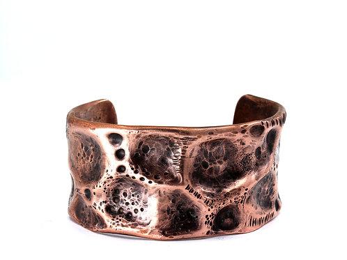 Wide Copper Cuff