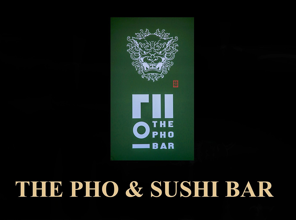 Sponsored by The PHO & SUSHI BAR