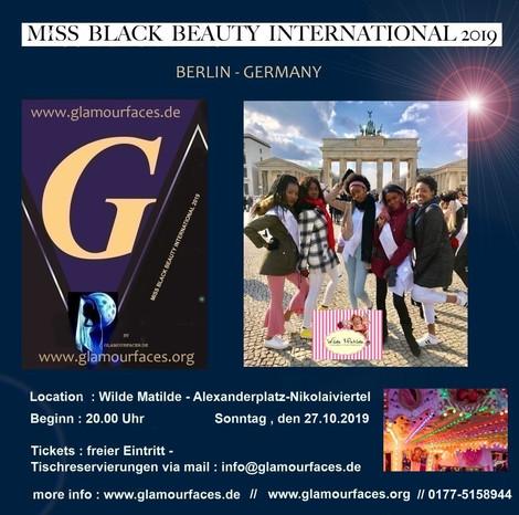 Miss Black Beauty International 2019