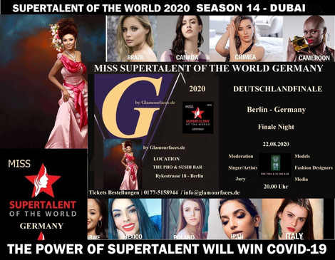 MISS SUPERTALENT OF THE WORLD GERMANY 2020