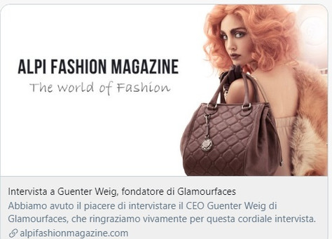 Interview by Alpi Fashion Magazine