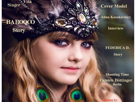 Alina Kozakiewicz - Cover Model by GLF Magazine