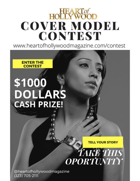 Cover Model Contest 2021 - Heart of Hollywood