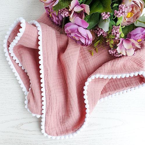 Personalised Muslin Blanket