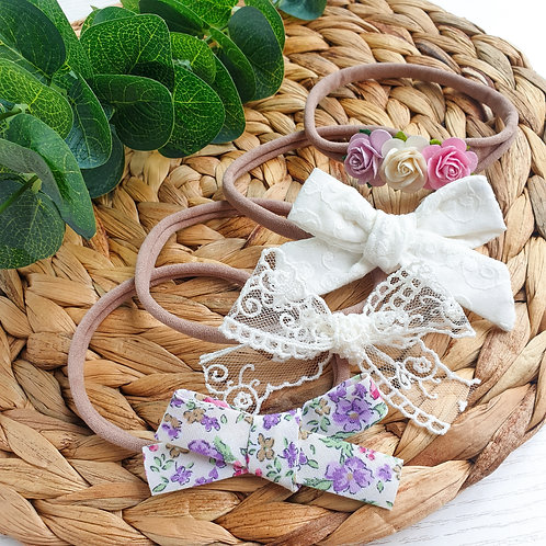 August Limited Edition Bow Set