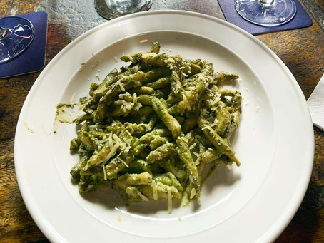 Basil Pesto with Almonds