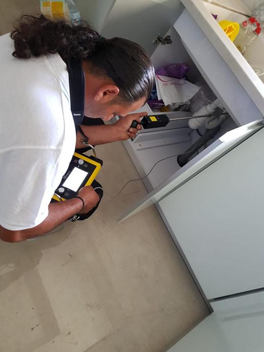 איתור נזילה במכשיר גז- תרמי ליין 1