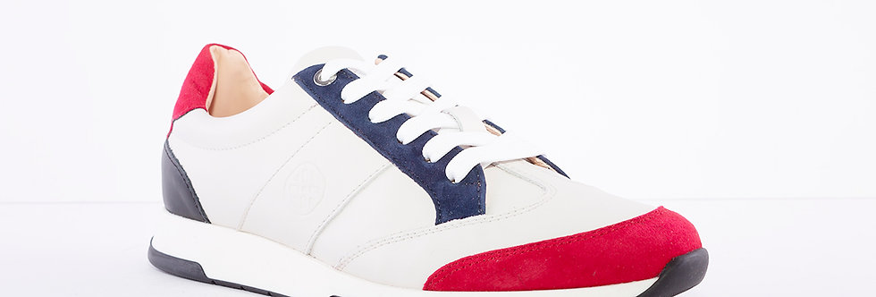 Unisa FALCONI Cream/Red/White